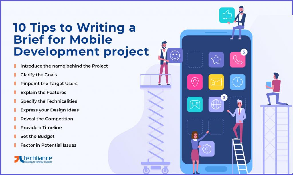 10 Tips to Writing a Brief for Mobile Development project