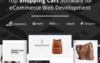 Top Shopping Cart Software for eCommerce Web Development