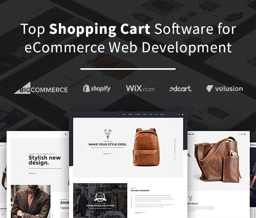 Ecommerce Web Development Rounding The Top Shopping Cart Software