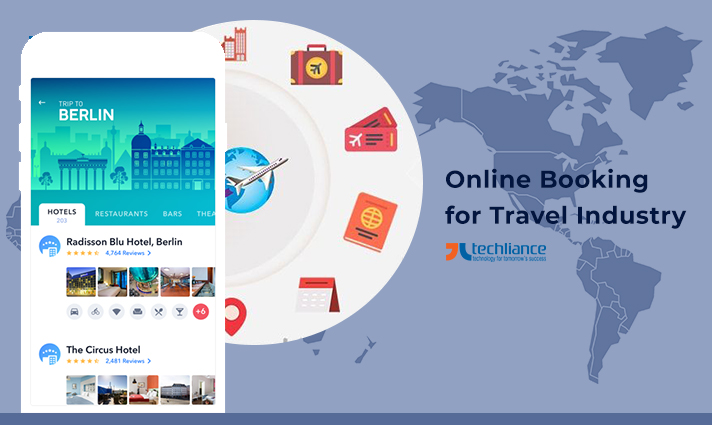 Online Booking for Travel Industry