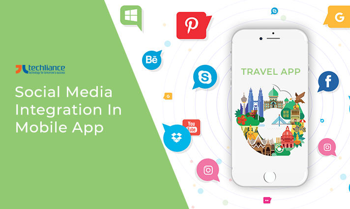 Social Media Integration in Travel App