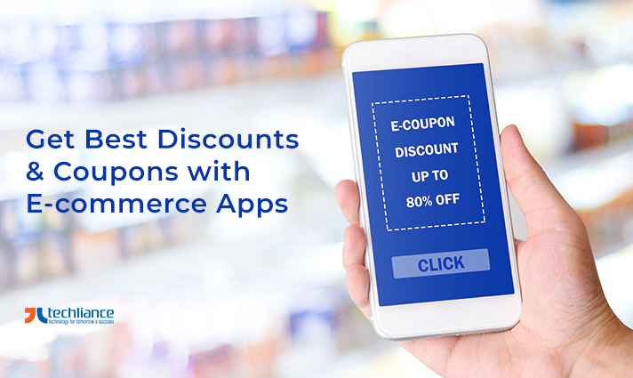 Get best Discounts and Coupons with E-commerce Apps