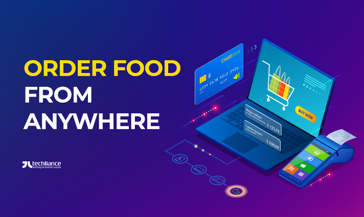 Order Food from Anywhere