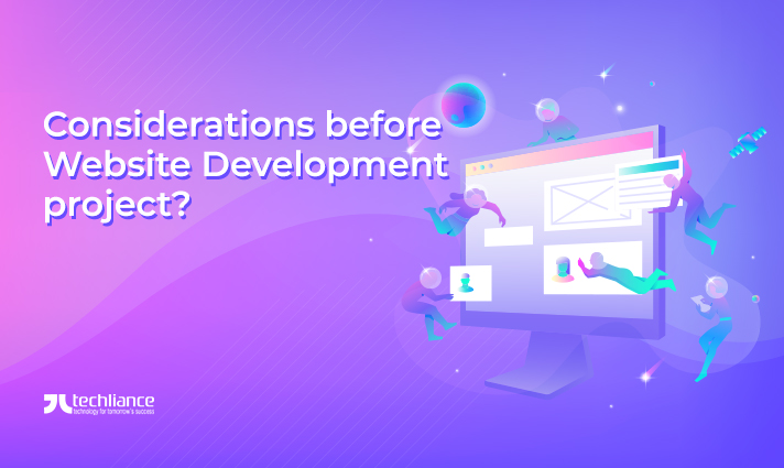 Considerations before Website Development project