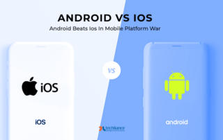 Android vs iOS - Android beats iOS in Mobile Platform Wars