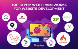 Top 10 PHP Web Frameworks for Website Development