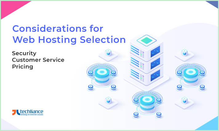 Considerations for Web Hosting selection