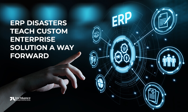 ERP Disasters explain Custom Enterprise Solution as a Way Ahead