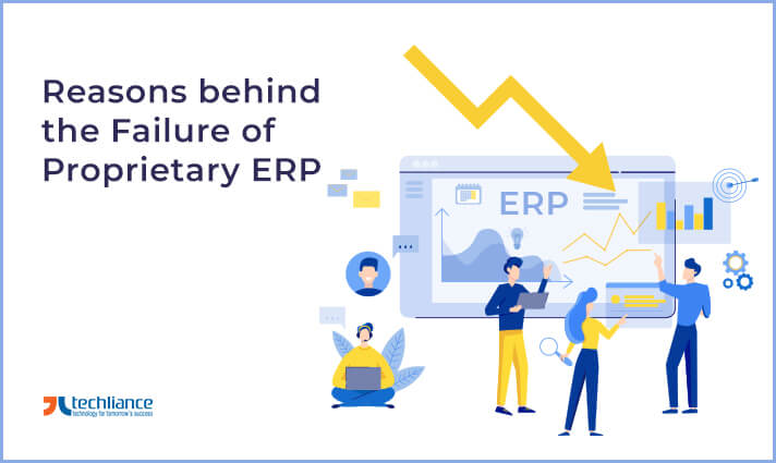 Reasons of the Failure of the Proprietary ERP
