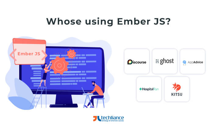 Which websites are running on EmberJS