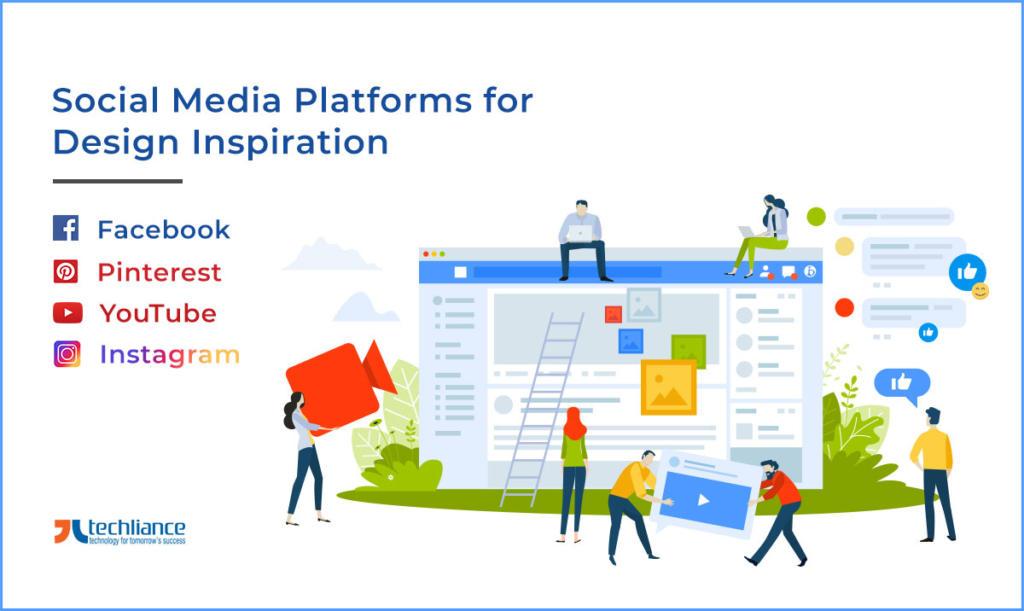Social Media Platforms for Design inspiration