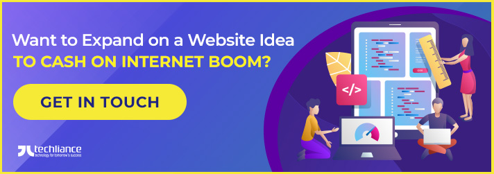 Want to Expand on a Website idea to cash on Internet boom