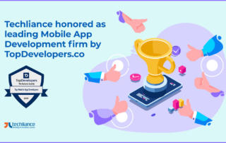 Techliance honored as leading Mobile App Development firm by TopDevelopers