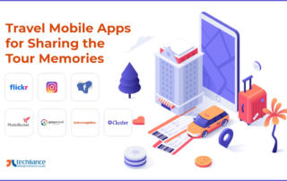 Travel Mobile Apps for Sharing the Tour Memories