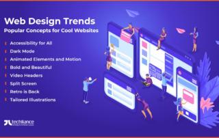 Web Design Trends - Popular Concepts for Cool Websites