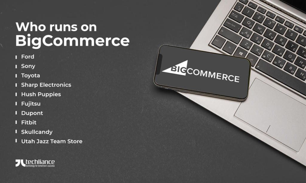 Who runs on BigCommerce