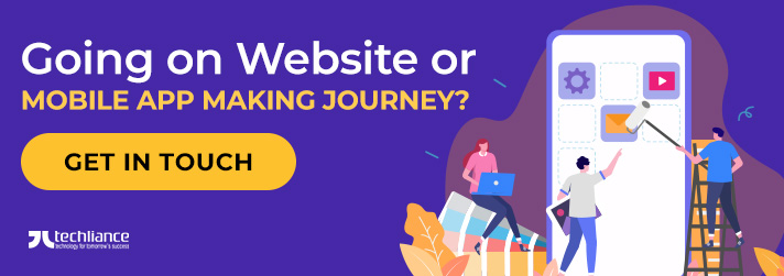 Going on Website or Mobile App making Journey