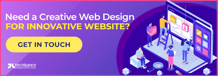 Need a Creative Web Design for Innovative Website