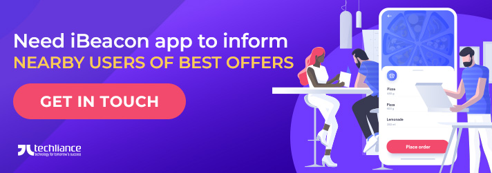 Need iBeacon App to inform nearby Users of best offers