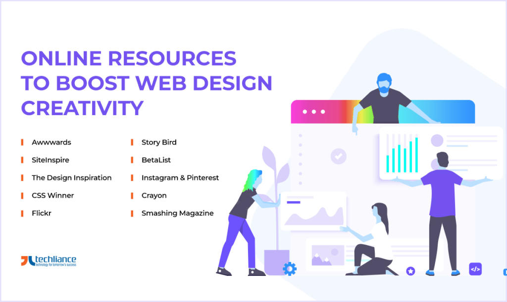 Online Resources to boost Web Design Creativity