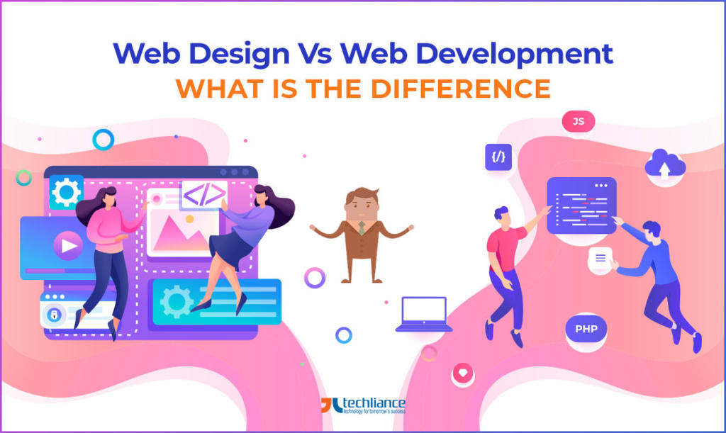 Web Design vs Web Development - What's the Difference
