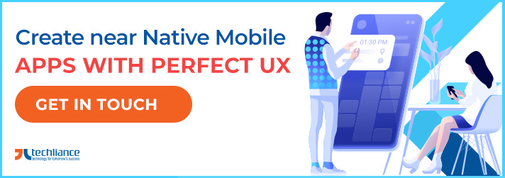 Create near Native Mobile Apps with perfect UX