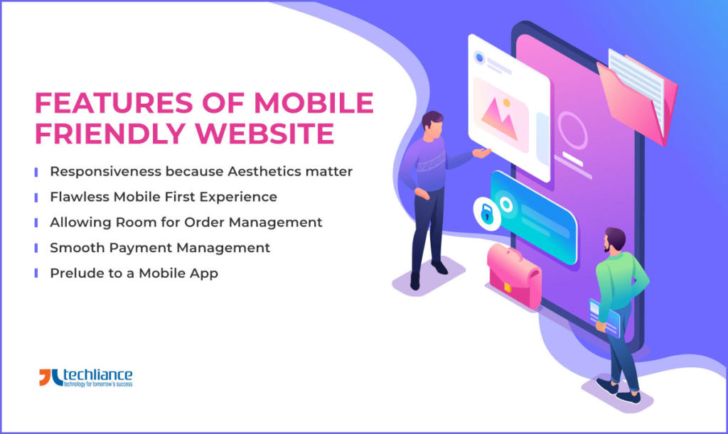 Features of Mobile Friendly Website