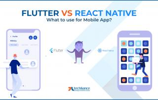 Flutter vs React Native - What to use for Mobile App