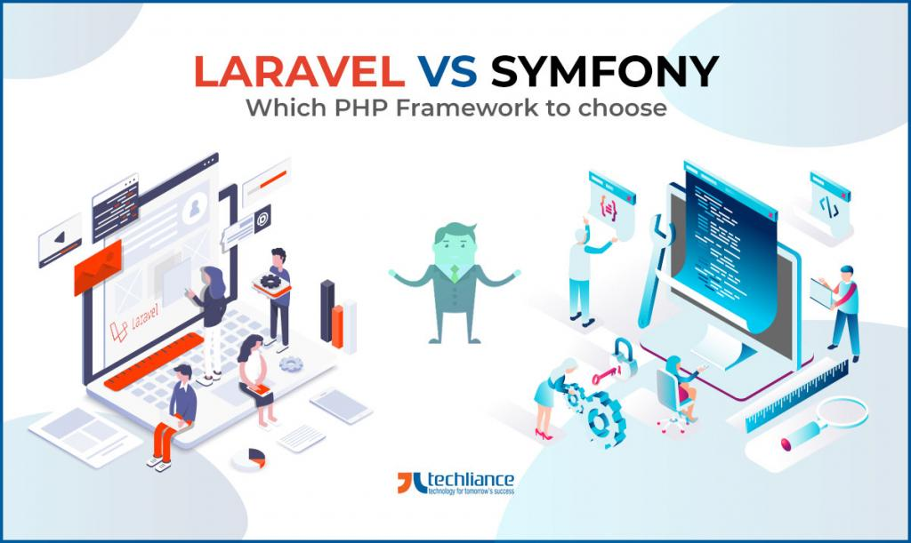 Laravel vs Symfony - Which PHP Framework to choose