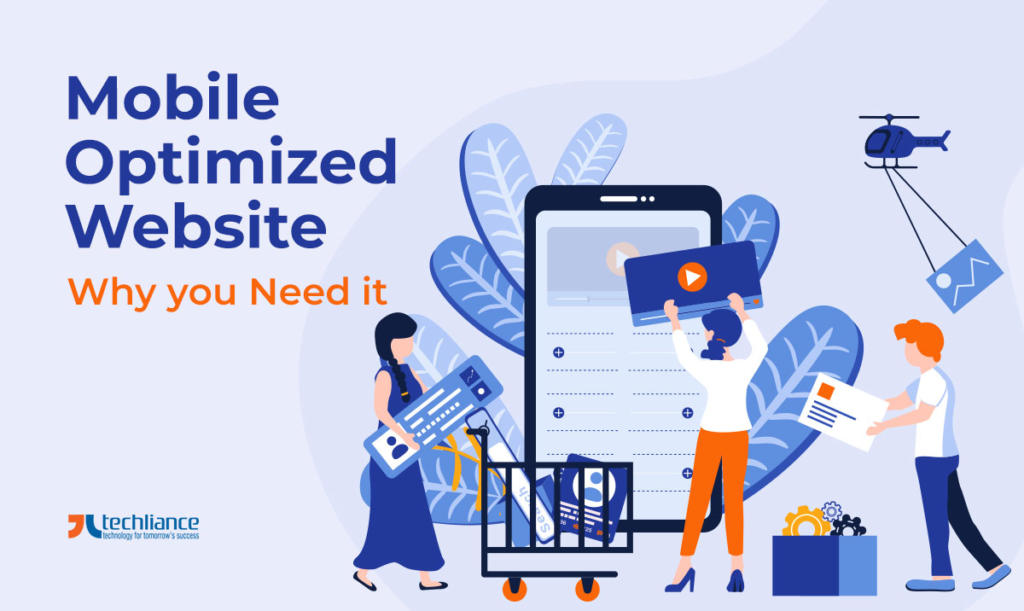 Mobile Optimized Website - Why you Need it