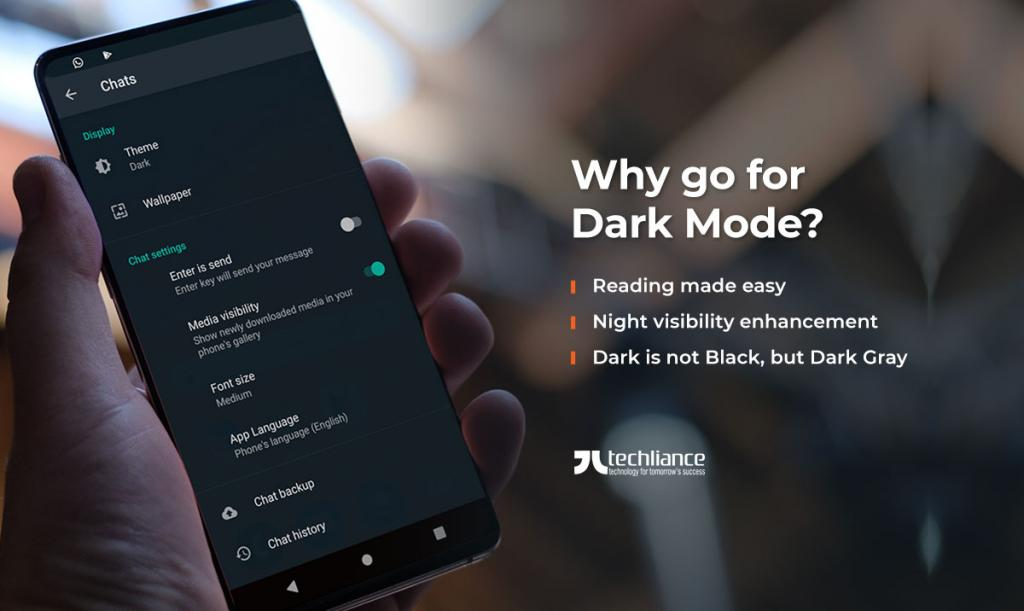 Why go for Dark Mode