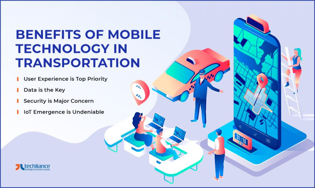 Benefits of Mobile Technology in Transportation