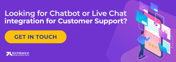 Looking for Chatbot or Live Chat integration for Customer Support