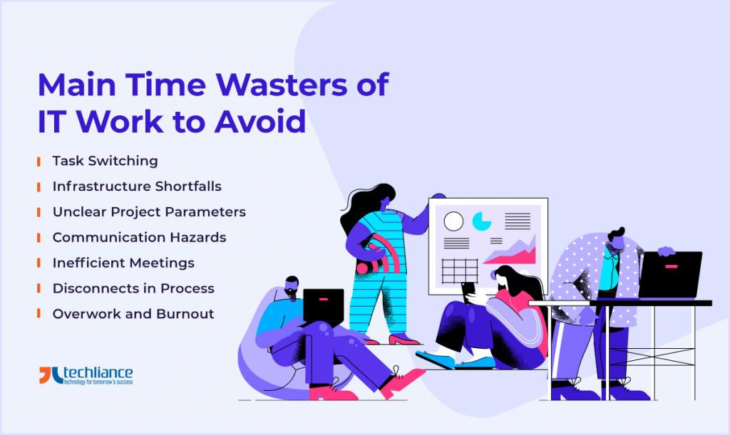 Main Time Wasters of IT Work to Avoid