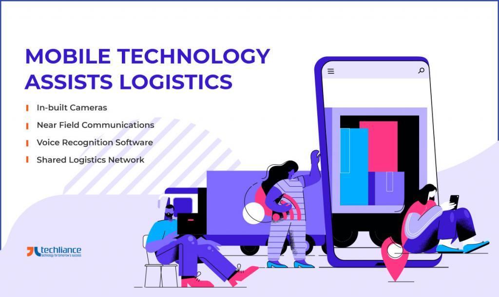 Mobile Technology assists Logistics
