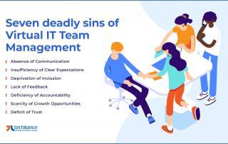 Seven deadly sins of Virtual IT Team management