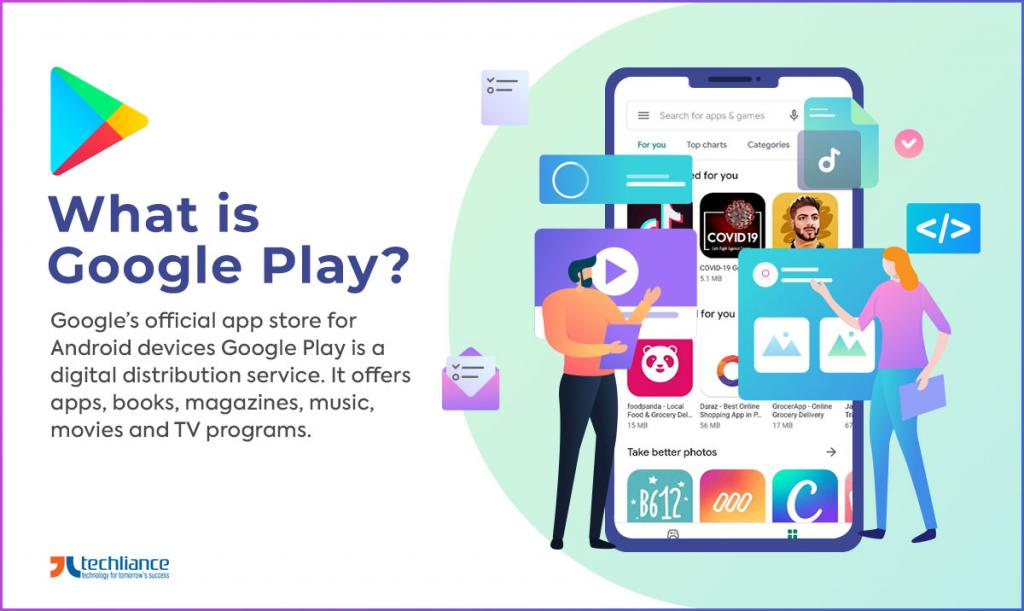 What is Google Play