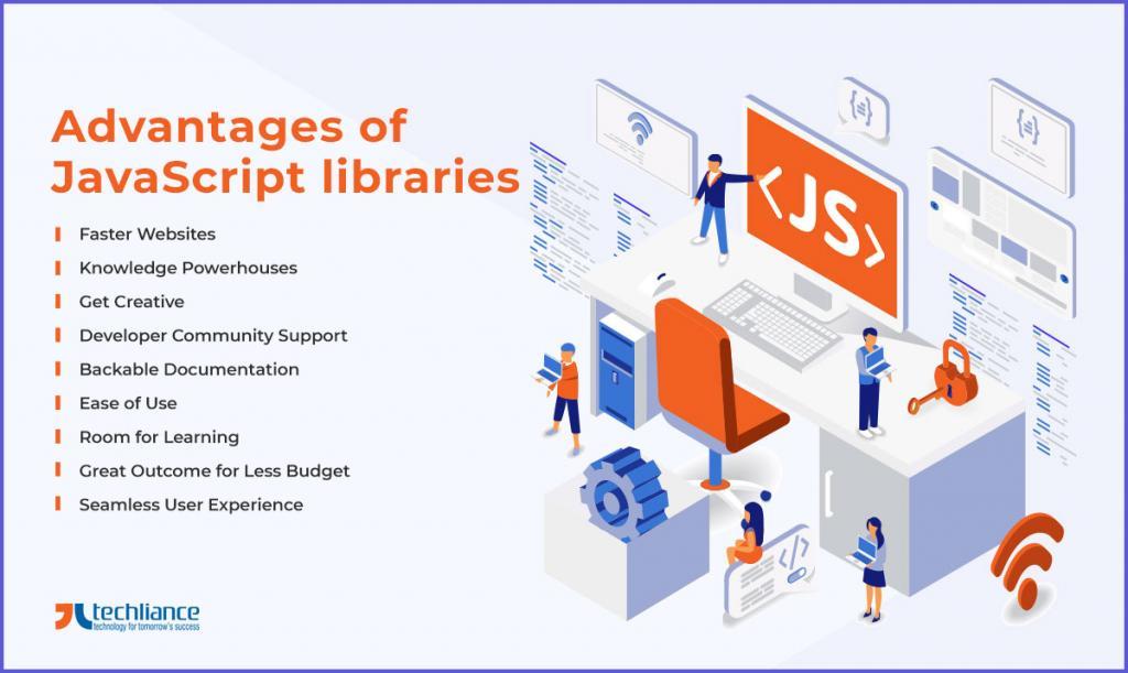 Advantages of JavaScript libraries