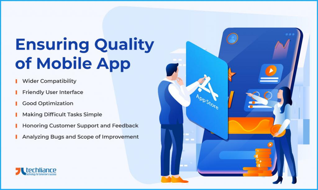 Ensuring Quality of Mobile App