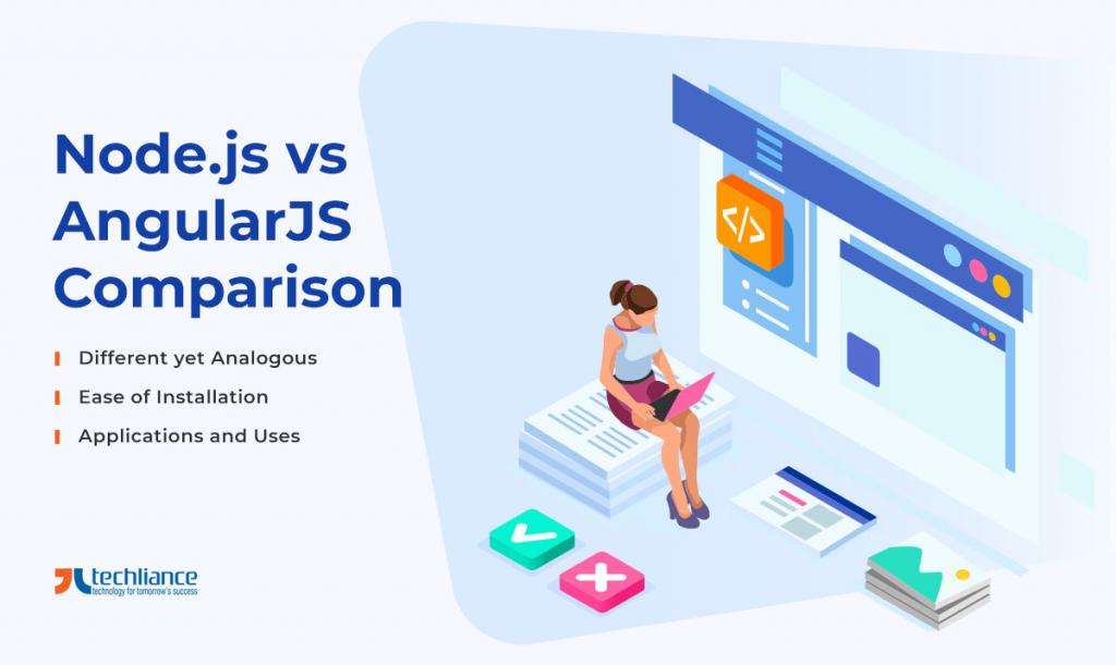 Node.js vs AngularJS - Comparison