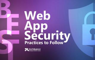 Best Web App Security Practices to Follow