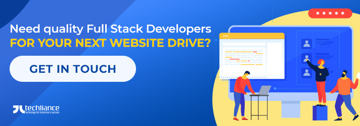 Need quality Full Stack Developers for your next Website drive