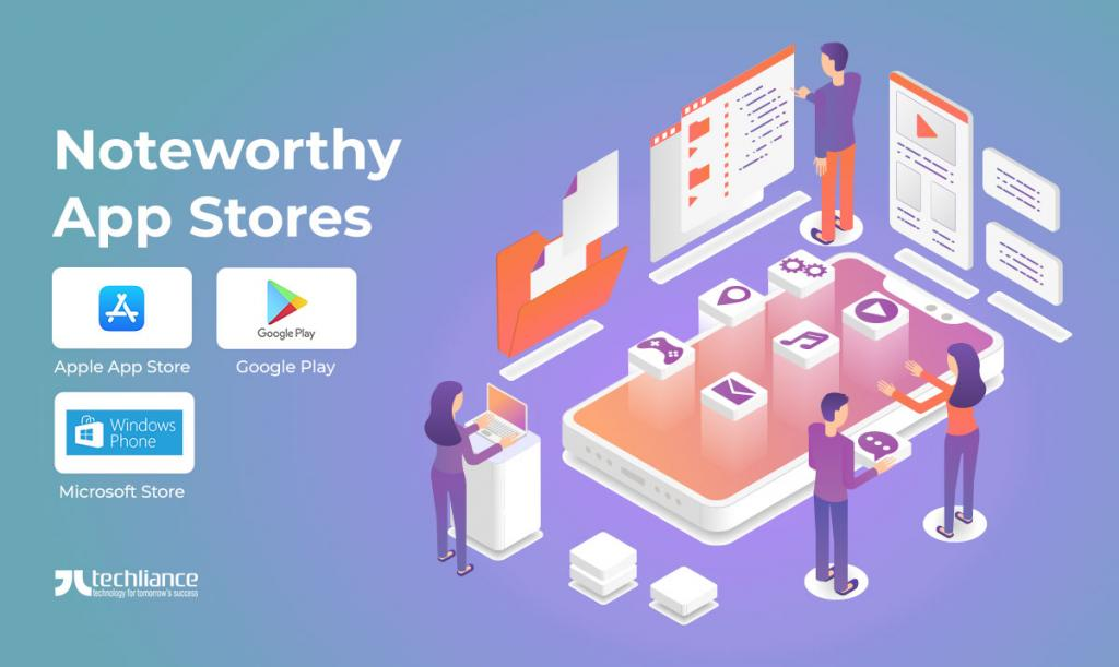 Noteworthy App Stores