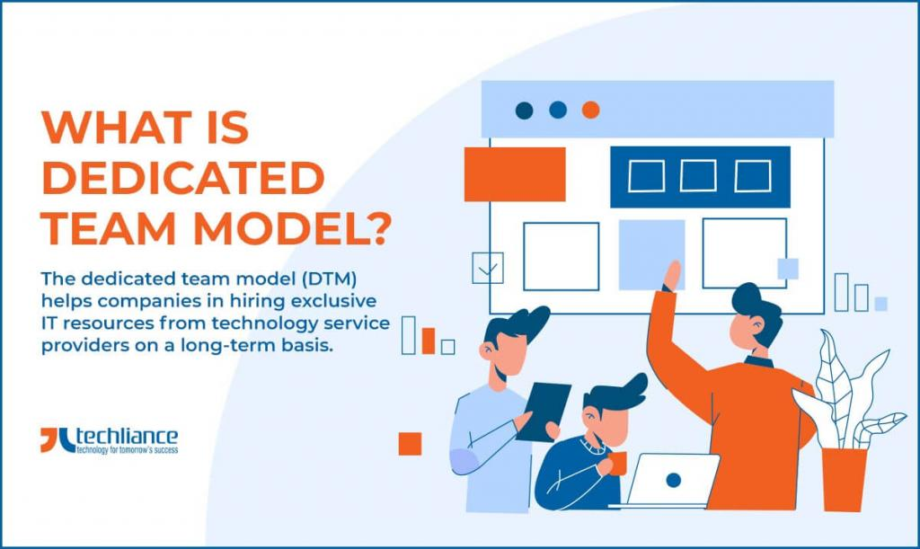 What is Dedicated Team Model