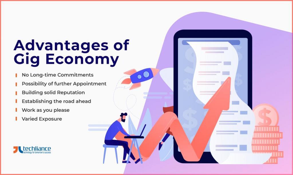 Advantages of Gig Economy