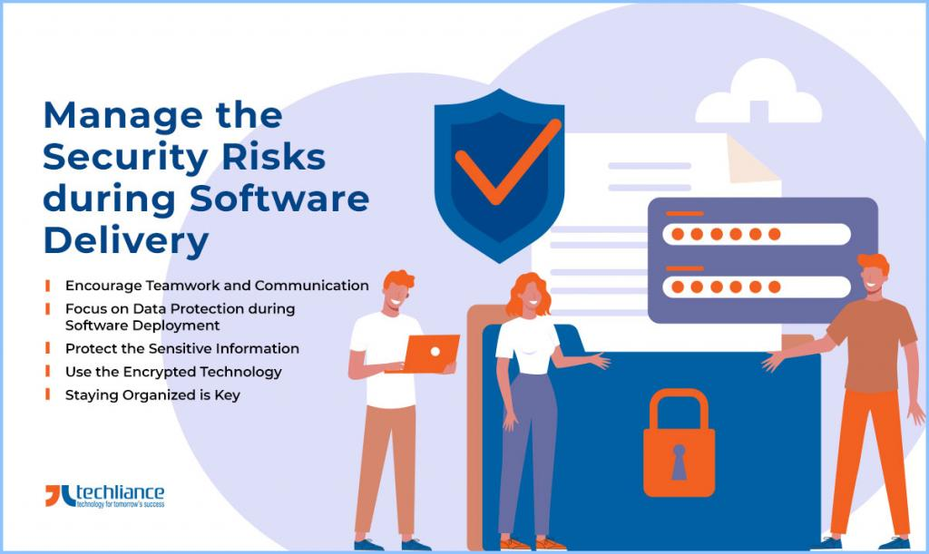 Manage the Security Risks during Software Delivery