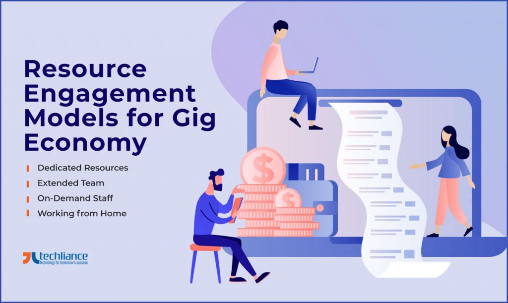 Resource Engagement Models for Gig Economy