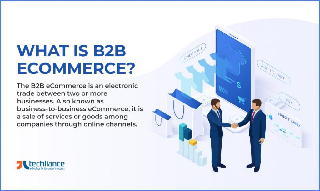 What is B2B eCommerce? Why a B2B Company be aware of it?