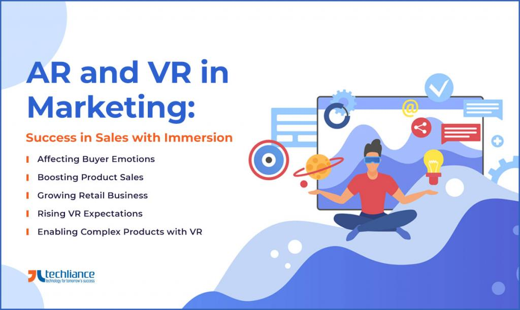 AR and VR in Marketing - Success in Sales with Immersion