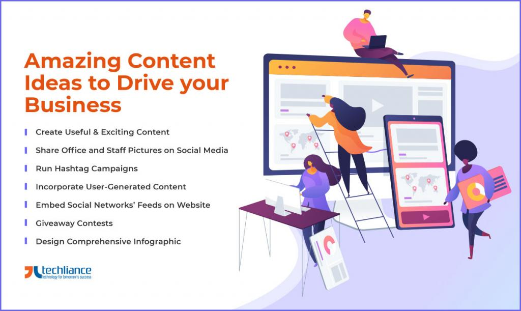 Amazing Content Ideas to Drive your Business